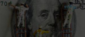 Физический список причин проблем с деньгами