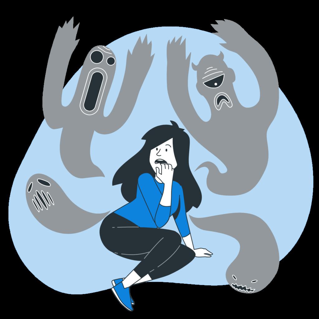 Как бороться со страхами внутри себя и перестать себя накручивать